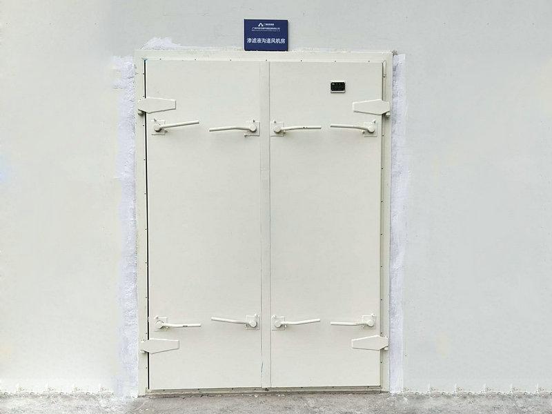 广州垃圾电厂双开密封门