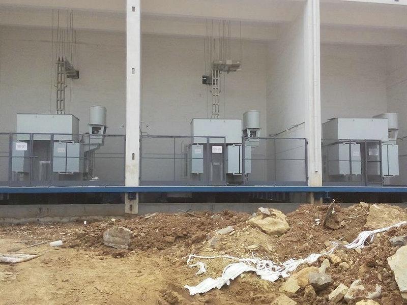 济宁化工产业园钢丝网大门