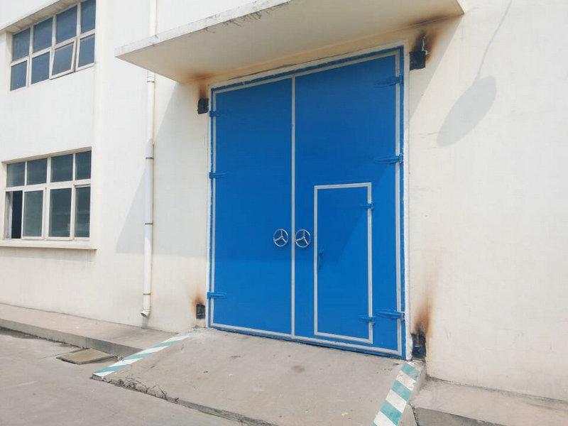 淄博齐鲁石化风机房隔声门