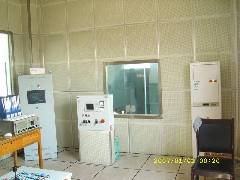 控制室吸声墙壁